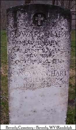 STOUT HART, NANCY ANN - Randolph County, West Virginia | NANCY ANN STOUT HART - West Virginia Gravestone Photos