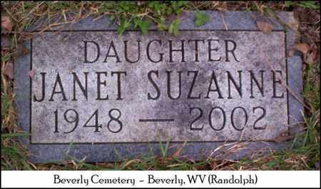 HART, JANET SUZANNE - Randolph County, West Virginia | JANET SUZANNE HART - West Virginia Gravestone Photos