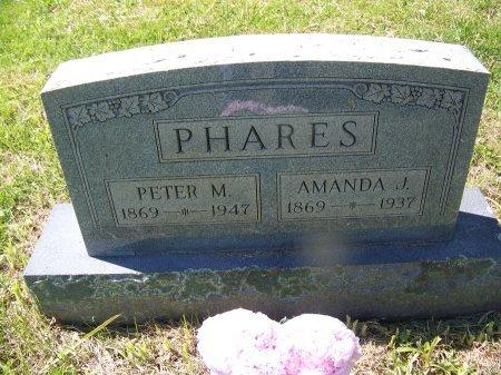 PHARES, AMANDA J. - Randolph County, West Virginia | AMANDA J. PHARES - West Virginia Gravestone Photos