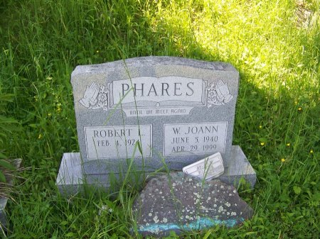 PHARES, W. JOANN - Randolph County, West Virginia | W. JOANN PHARES - West Virginia Gravestone Photos