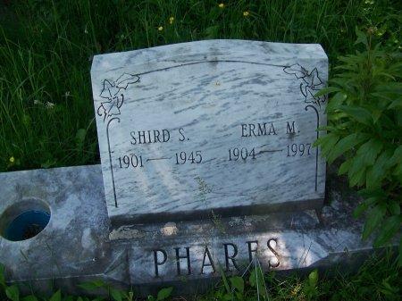 PHARES, SHIRD S. - Randolph County, West Virginia   SHIRD S. PHARES - West Virginia Gravestone Photos