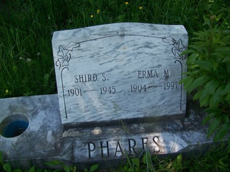 PHARES, ERMA M. - Randolph County, West Virginia | ERMA M. PHARES - West Virginia Gravestone Photos