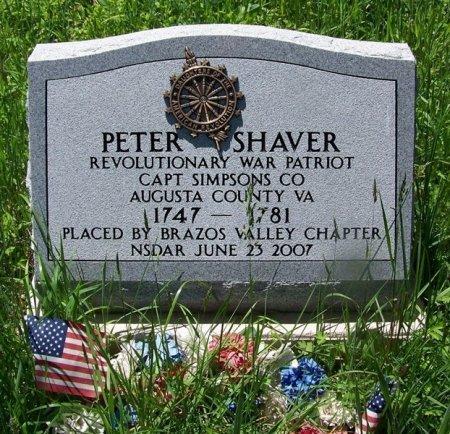 SHAVER, PETER - Randolph County, West Virginia   PETER SHAVER - West Virginia Gravestone Photos
