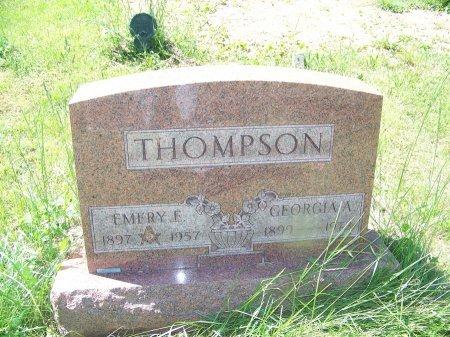 THOMPSON, GEORGIA A. - Randolph County, West Virginia | GEORGIA A. THOMPSON - West Virginia Gravestone Photos