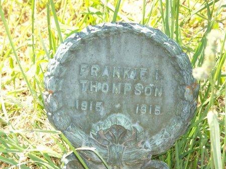 THOMPSON, FRANKIE I. - Randolph County, West Virginia | FRANKIE I. THOMPSON - West Virginia Gravestone Photos
