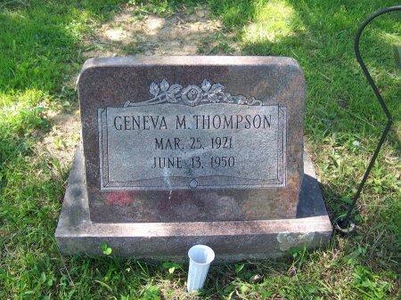 THOMPSON, GENEVA M. - Randolph County, West Virginia | GENEVA M. THOMPSON - West Virginia Gravestone Photos