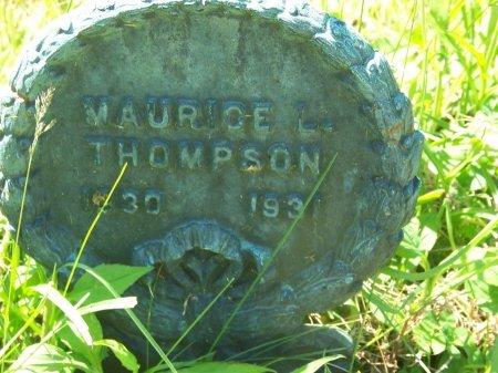 THOMPSON, MAURICE L. - Randolph County, West Virginia   MAURICE L. THOMPSON - West Virginia Gravestone Photos
