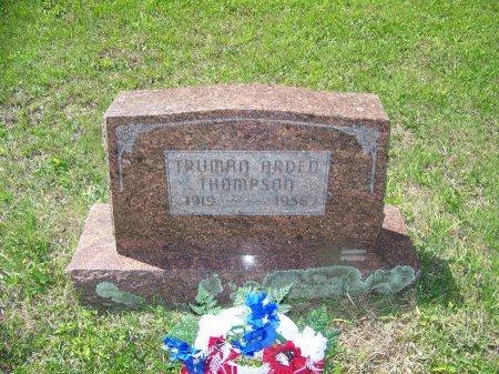 THOMPSON, TRUMAN ARDED - Randolph County, West Virginia   TRUMAN ARDED THOMPSON - West Virginia Gravestone Photos