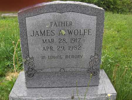 WOLFE, JAMES A - Randolph County, West Virginia | JAMES A WOLFE - West Virginia Gravestone Photos