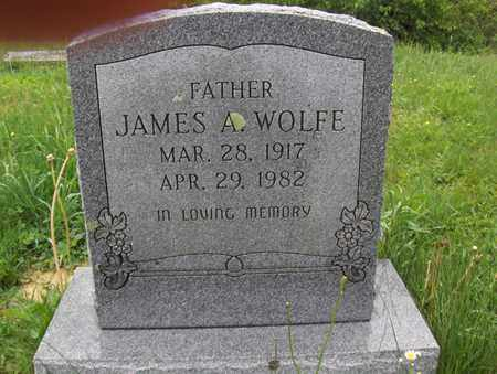 WOLFE, JAMES A - Randolph County, West Virginia | JAMES A WOLFE - West Virginia Gravestone Photos
