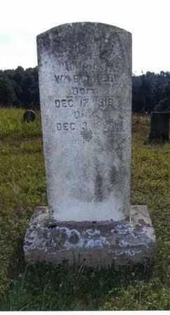 BONNER, CAROLINE - Taylor County, West Virginia | CAROLINE BONNER - West Virginia Gravestone Photos