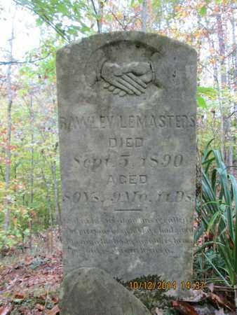LEMASTERS, RAWLEY - Tyler County, West Virginia   RAWLEY LEMASTERS - West Virginia Gravestone Photos