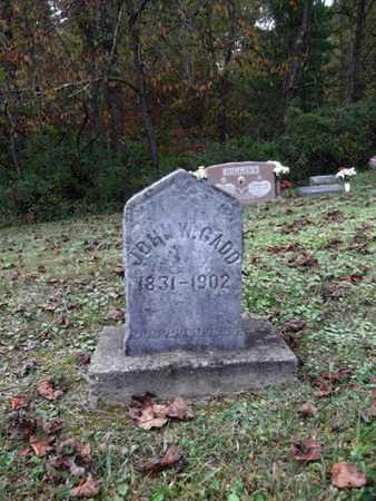 GADD, JOHN W. - Wetzel County, West Virginia | JOHN W. GADD - West Virginia Gravestone Photos