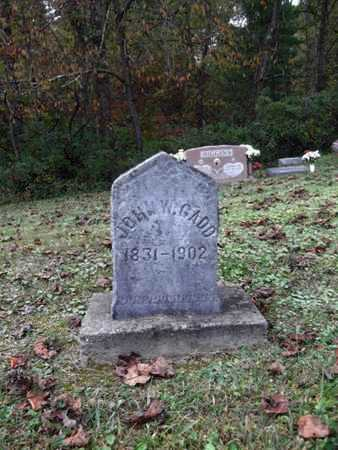 GADD, JOHN W. - Wetzel County, West Virginia   JOHN W. GADD - West Virginia Gravestone Photos