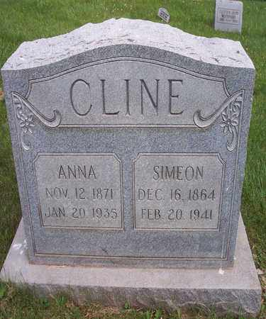 CLINE, ANNA - Wirt County, West Virginia | ANNA CLINE - West Virginia Gravestone Photos