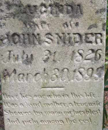 HILL SNIDER, LUCINDA - Wirt County, West Virginia | LUCINDA HILL SNIDER - West Virginia Gravestone Photos