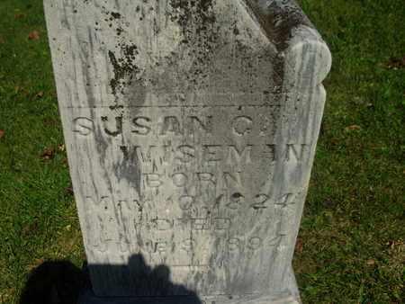 COE WISEMAN, SUSAN - Wirt County, West Virginia   SUSAN COE WISEMAN - West Virginia Gravestone Photos