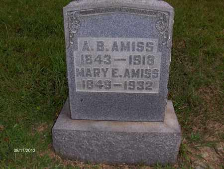 AMISS, ALEXANDER B - Wood County, West Virginia | ALEXANDER B AMISS - West Virginia Gravestone Photos