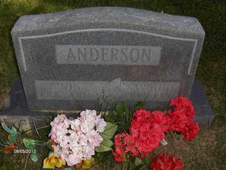 ANDERSON, SARAH - Wood County, West Virginia | SARAH ANDERSON - West Virginia Gravestone Photos