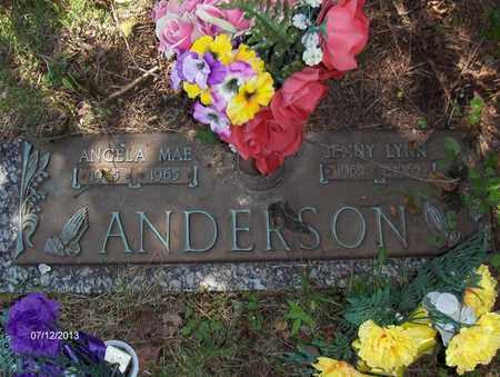ANDERSON, ANGELA MAE - Wood County, West Virginia | ANGELA MAE ANDERSON - West Virginia Gravestone Photos
