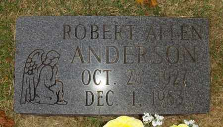 ANDERSON, ROBERT ALLEN - Wood County, West Virginia | ROBERT ALLEN ANDERSON - West Virginia Gravestone Photos