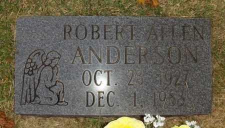 ANDERSON, ROBERT ALLEN - Wood County, West Virginia   ROBERT ALLEN ANDERSON - West Virginia Gravestone Photos