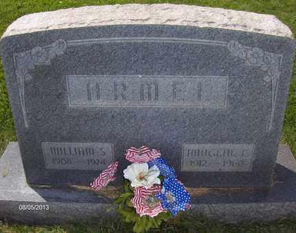 ARMEL, WILLIAM S - Wood County, West Virginia | WILLIAM S ARMEL - West Virginia Gravestone Photos
