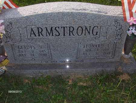 ROBEY ARMSTRONG, GLADYS VIRGINIA - Wood County, West Virginia | GLADYS VIRGINIA ROBEY ARMSTRONG - West Virginia Gravestone Photos