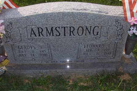 ARMSTRONG, GLADYS VIRGINIA - Wood County, West Virginia | GLADYS VIRGINIA ARMSTRONG - West Virginia Gravestone Photos