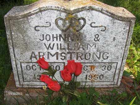 ARMSTRONG, JOHNNY - Wood County, West Virginia   JOHNNY ARMSTRONG - West Virginia Gravestone Photos