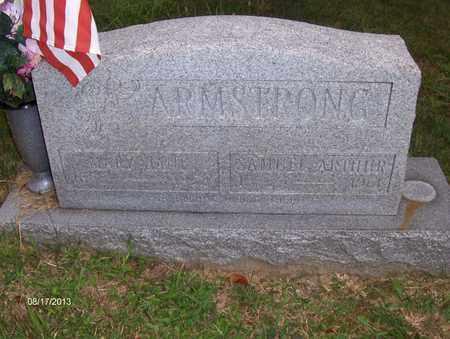 ARMSTRONG, SAMUEL ARTHUR - Wood County, West Virginia   SAMUEL ARTHUR ARMSTRONG - West Virginia Gravestone Photos