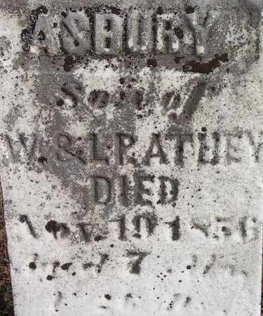 ATHEY, ASBURY - Wood County, West Virginia | ASBURY ATHEY - West Virginia Gravestone Photos