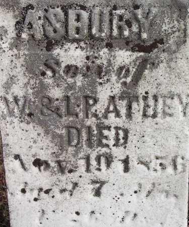 ATHEY, ASBURY - Wood County, West Virginia   ASBURY ATHEY - West Virginia Gravestone Photos