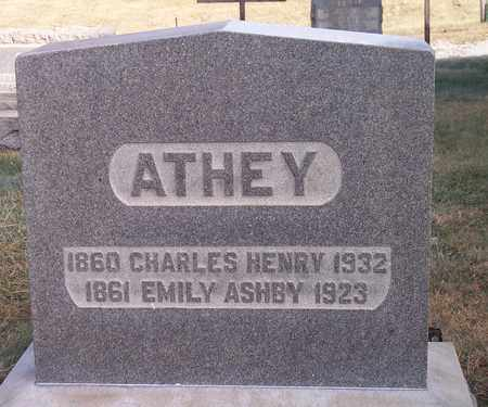 ASHBY ATHEY, EMILY - Wood County, West Virginia | EMILY ASHBY ATHEY - West Virginia Gravestone Photos