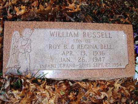 BELL, WILLIAM RUSSELL - Wood County, West Virginia | WILLIAM RUSSELL BELL - West Virginia Gravestone Photos