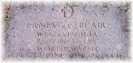 BLAIR (VETERAN WWII), ERNEST C. - Wood County, West Virginia | ERNEST C. BLAIR (VETERAN WWII) - West Virginia Gravestone Photos
