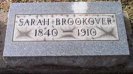 BROOKOVER, SARAH JANE - Wood County, West Virginia | SARAH JANE BROOKOVER - West Virginia Gravestone Photos