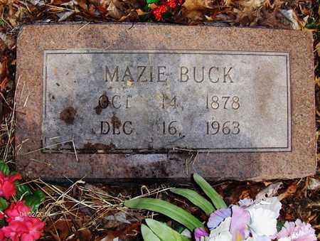 TOWNSEND BUCK, MAZIE - Wood County, West Virginia | MAZIE TOWNSEND BUCK - West Virginia Gravestone Photos