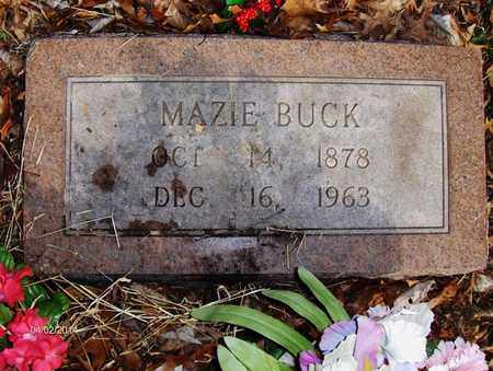 TOWNSEND BUCK, MAZIE - Wood County, West Virginia | MAZIE TOWNSEND BUCK - West Virginia Gravestone Photos