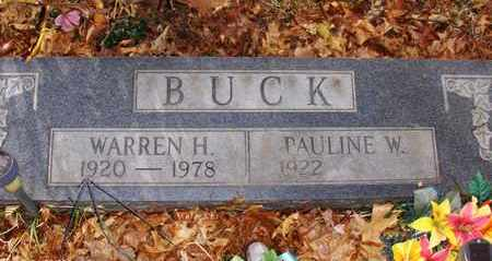 BUCK, WARREN H - Wood County, West Virginia | WARREN H BUCK - West Virginia Gravestone Photos