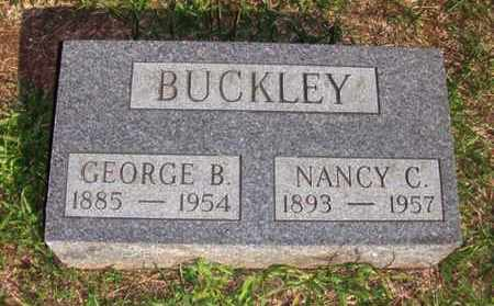 BUCKLEY, GEORGE BEVERLY - Wood County, West Virginia | GEORGE BEVERLY BUCKLEY - West Virginia Gravestone Photos