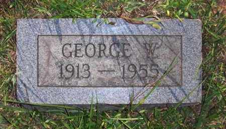 BUCKLEY, GEORGE WILLIAM - Wood County, West Virginia | GEORGE WILLIAM BUCKLEY - West Virginia Gravestone Photos