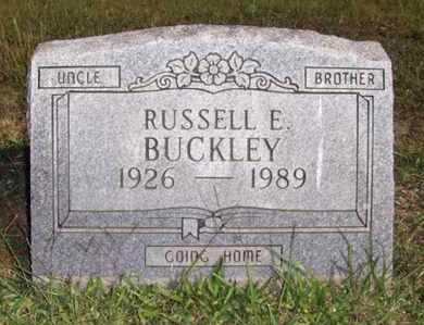 BUCKLEY, RUSSELL E - Wood County, West Virginia | RUSSELL E BUCKLEY - West Virginia Gravestone Photos