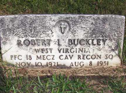 BUCKLEY (VETERAN), ROBERT L - Wood County, West Virginia | ROBERT L BUCKLEY (VETERAN) - West Virginia Gravestone Photos