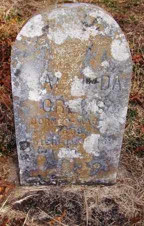 CREWS, ALVIRDA - Wood County, West Virginia   ALVIRDA CREWS - West Virginia Gravestone Photos