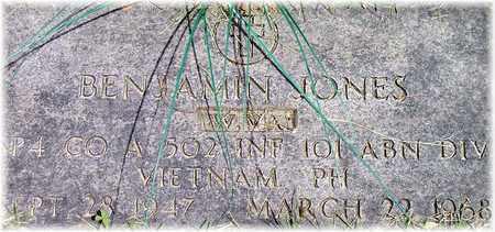 JONES (VETERAN VIET), BENJAMIN ALLEN - Wood County, West Virginia | BENJAMIN ALLEN JONES (VETERAN VIET) - West Virginia Gravestone Photos