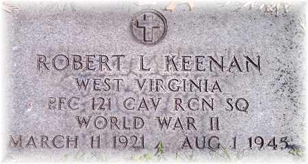 KEENAN (VETERAN WWII), ROBERT L - Wood County, West Virginia   ROBERT L KEENAN (VETERAN WWII) - West Virginia Gravestone Photos
