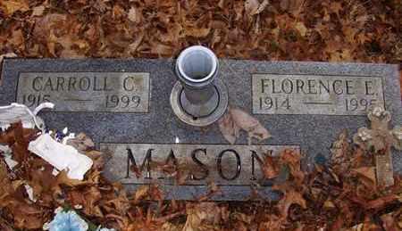 MASON, CARROLL C - Wood County, West Virginia   CARROLL C MASON - West Virginia Gravestone Photos