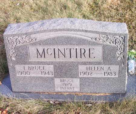 MCINTIRE, ISAAC BRUCE - Wood County, West Virginia | ISAAC BRUCE MCINTIRE - West Virginia Gravestone Photos