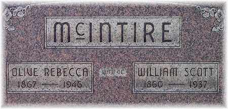 MCINTIRE, OLIVE REBECCA - Wood County, West Virginia | OLIVE REBECCA MCINTIRE - West Virginia Gravestone Photos